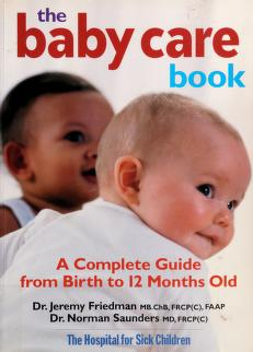 Cover of: The baby care book | Jeremy N. Friedman